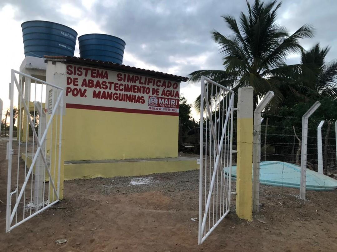 Prefeitura revitaliza Sistema Simplificado de Abastecimento de Água do povoado de Manguinhas